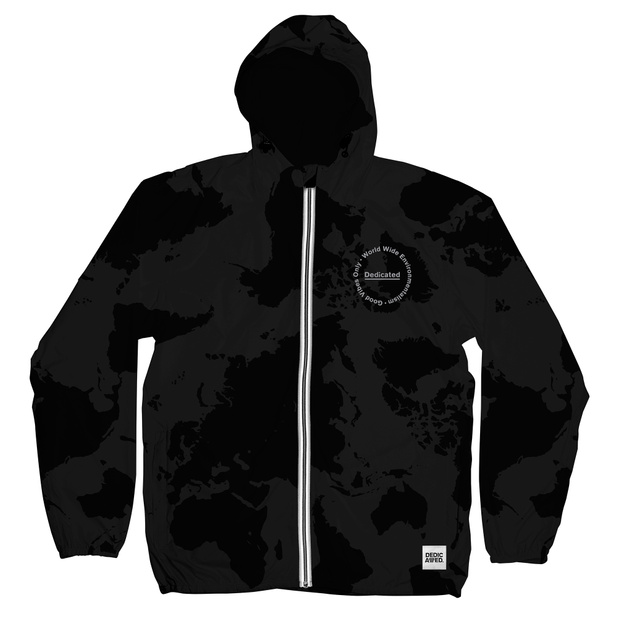 Windbreaker World Camo