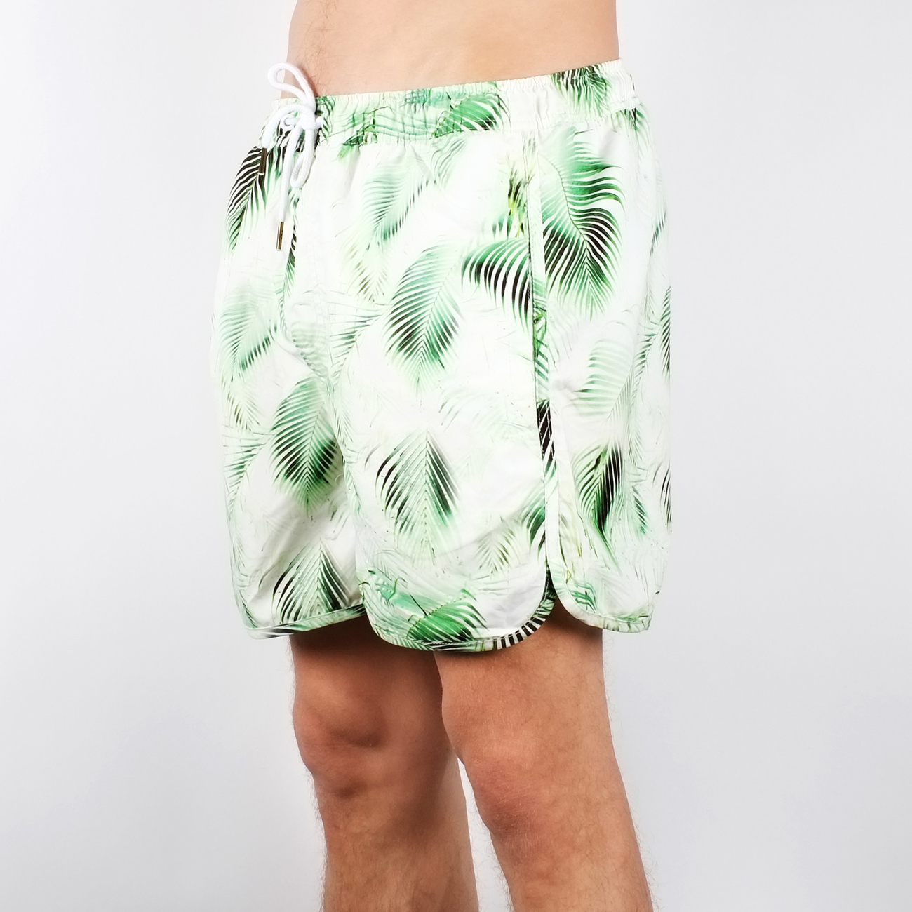 Swim Shorts Bright Leaves