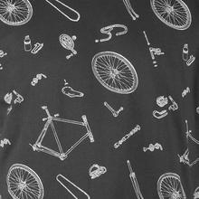AO Bike Parts Pattern Charcoal