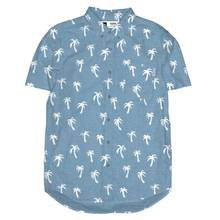AO Short Sleeve Shirt Painted Palms